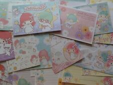 Sanrio Little Twin Stars Letter Set Writing paper envelope stationery gift girl