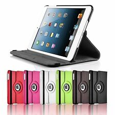 360° Rotating iPad 2 / 3  / 4 RETINA SMART PU Leather Case Stand  + Protector
