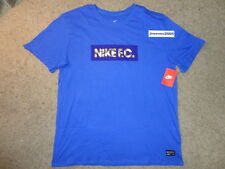 NWT Nike FC Foil Logo Shirt Sz XL  100% Authentic 810505 480 RETAIL $40
