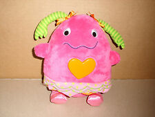 2012 SASSY SOFT PLUSH MUSICAL LULLABY LIGHT UP HEART BEATING SOUNDS STUFFED TOY