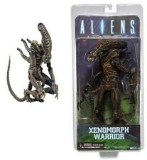 "NECA 2013 ALIENS 9"" XENOMORPH WARRIOR SERIES 1 BROWN GLOSSY CLASSIC Ver MOC MISB"