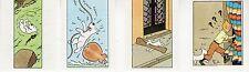 TINTIN ET MILOU LOT DE 4 SUPERBES VIGNETTES CONCOURS BUBBLE GUM AU MIEL RARE (5)