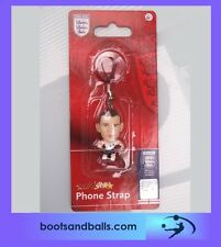 (acc 518) England football micro stars Wayne Rooney phone charm / key ring BNIP