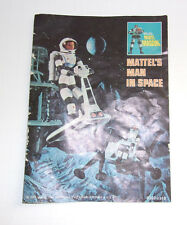 1966, 1967 Mattel Major Matt Mason-Rare Tri Fold Catalog 6302-1110