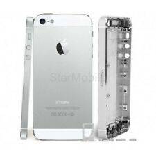 IPHONE 5 CHASSIS COQUE ARRIÈRE ALUMINIUM BLANC + KIT BOUTONS