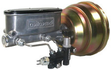 "NEW 8"" DUAL POWER BRAKE BOOSTER & WILWOOD MASTER CYLINDER & PROPORTIONING VALVE"