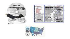 Yaesu FT-817ND Accessory Bundle - RT Systems Programming Software & Nifty Guide!