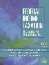 Federal Income Taxation: Basic Concepts and Applications : 1998 Tax Returns, 199