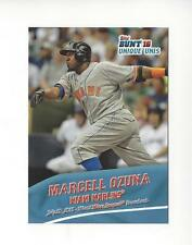 2016 Topps Bunt Unique Unis #UU8 Marcell Ozuna Marlins