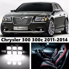 13pcs LED Xenon Whit Light Interior Package Kit for Chrysler 300 300c 2011-2014