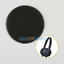 1 Pair Replacement Foam Ear Pads For For Sennheiser HD433 HD440II Headphone 82mm