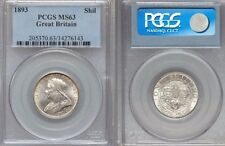Great Britain, VICTORIA, 1837-1901, AR SHILLING, 1893, PCGS Graded MS63