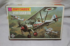 Siskin IIIA Armstrong Whitworth Matchbox 1/72 model aircraft kit #162R