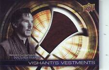 BENEDICT CUMBERBATCH 2016 UPPER DECK DR. DOCTOR STRANGE #VH-DS RELIC COSTUME NM+
