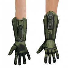 Halo Master Chief Men's Deluxe Adult Costume Gloves | Disguise 89997