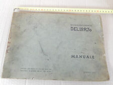 MANUALE DELL'ORTO 1962 TARATURE CARBURATORI VESPA 98 - GS 160 MA SI TA ETC
