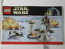 Lego Star Wars 7749 Echo Base instructions