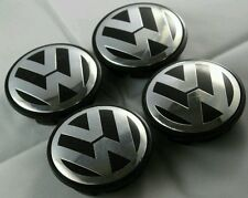 VW 65MM CENTRE CAPS EMBLEMS FOR GOLF MK4 CARS WITH OEM ALLOYS