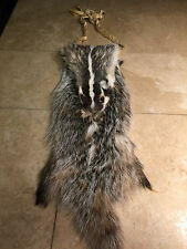 Badger fur bag Native American pipe bag possibles mountain man regalia chanupa