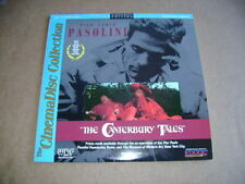 THE CANTERBURY TALES-PASOLINI THE CINEMADISC