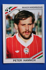 Panini WC MEXICO 86 STICKER N. 210 MAGYARORSZAG HANNICH  WITH BACK VERY GOOD