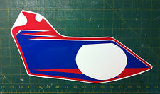 BMW S1000 RR 2010 cupolino rosso blù -  adesivi/adhesives/stickers/decal