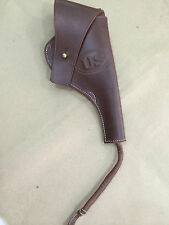 US WWI M1917 .45cal Revolver Leather Holster - Reproduction