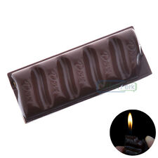 Cool Chocolate Cigarette Lighter Butane Gas Refillable Fire Torch For Cigar Pipe
