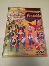 The Three Musketeers,  Pinocchio (DVD, 2002) animated classics
