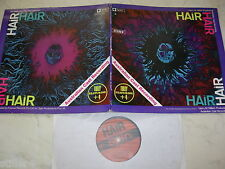 HAIR Australian Cast FEAT. TULLY *AUSTRALIA HIPPIE ROCK FOC LP 70s*SPIN  LABEL*