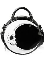 KillStar Darkside of the Moon Handbag Purse Black NEW Goth Dark Punk Witchy Occu
