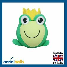 REDUCED...Frog Prince Charming Green Toad Car Aerial Ball Antenna Topper