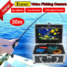 "EYOYO 7"" HD Monitor 30M Professional Fish Finder Underwater Fishing Video Cam"