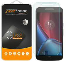 2x Supershieldz Tempered Glass Screen Protector Saver For Motorola Moto G4 Plus