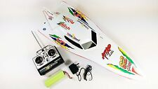 PRE ORDER! 7000 RC Remote Radio Control R/C Syma WHITE Stealth Racing Speed Boat