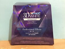 Crest 3D Whitestrips Professional Effects 20 Pouches 40 Strips 1 box