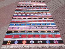 """Anatolia Turkish Antalya Nomads Kilim 78,7"""" x 144,4"""" Area Rug Kelim Carpet Wool"""