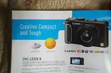 PANASONIC DIGITAL CAMERA BROCHURE,NEW,NO CAMERA INCLUDED,FEAT LX3/GF1/G1/TZ7