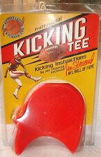 JAN STENERUD FOOTBALL KICKING TEE NFL HALL OF FAME CHIEFS SUPER BOWL PACKERS RED