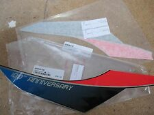 HUSQVARNA FORK GUARD DECALS 100th     WR CR  SMS TE TC SMR 125 250 450 510 570