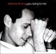 You Sang to Me by Marc Anthony (Brand New CD, Sony Music Distribution)