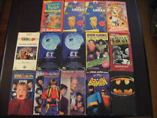 """""""14"""" VHS CHILDEN'S AND ADULT LITTLE RASCALS, E.T. HOME ALONE, BATMAN"""