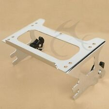 Chrome Detachable Two-up Tour Pak Pack Mounting Rack for Harley Touring 97-08