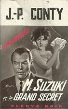 J. - P. CONTY   Mr SUZUKI ET LE GRAND SECRET  - FLEUVE NOIR  639