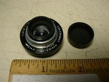 Dallmeyer vintage Anastigmat triple lens f2.9/15mm.  'C' mount