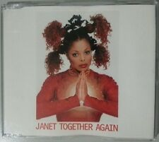 JANET JACKSON - Together Again (retro CD Single) rare 1997 6 track CDS remixes