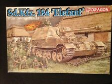 1/35 dragon German Sd.Kfz.164 Elefant Tank Model bonus MB crew Academy infantry