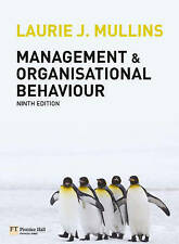 Management and Organisational Behaviour Plus MyLab Access Code by Laurie J. Mul…