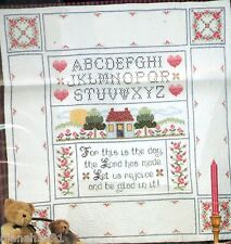 This Is The Day Mini Quilt Sampler Kit Cross Stitch & Quilting New