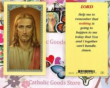 Lord, Help me to Remember Prayer - Laminated Holy Card